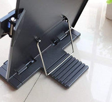 Load image into Gallery viewer, RONTENO Metal Adjustable Reading Desk Holder paulabestdeals.myshopify.com