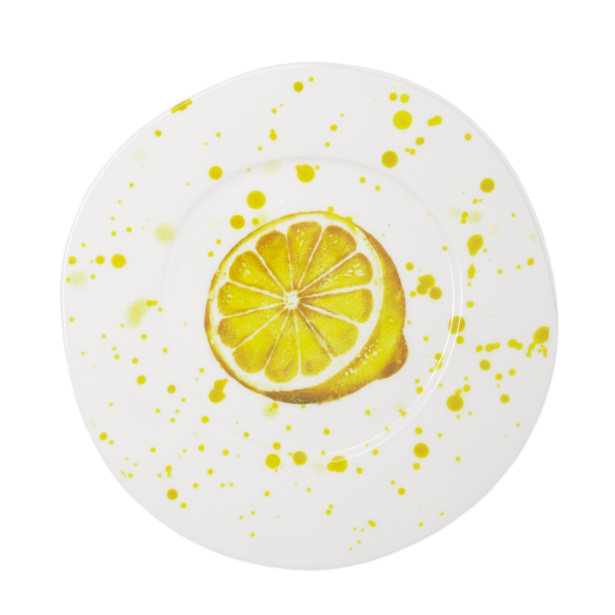 Melamine Fruit Lemon Dinner Plate by VIETRI