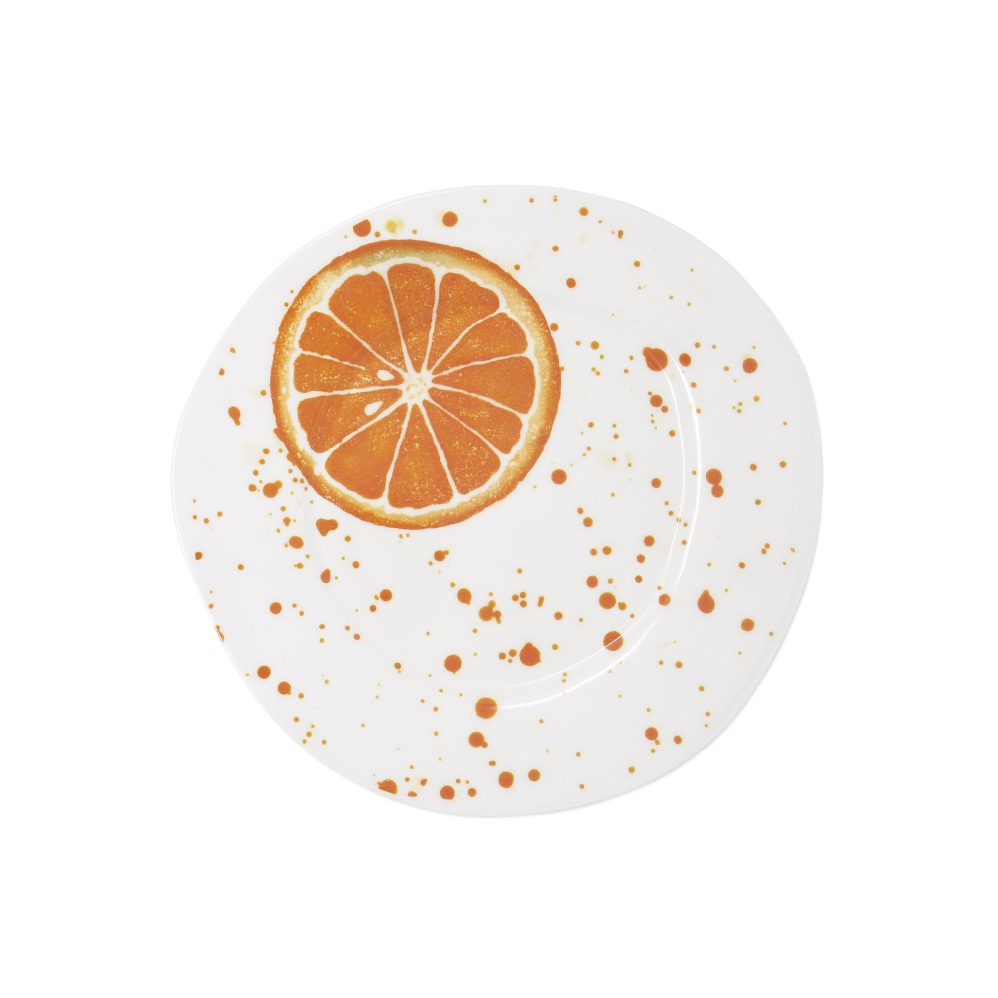 Melamine Fruit Orange Salad Plate by VIETRI