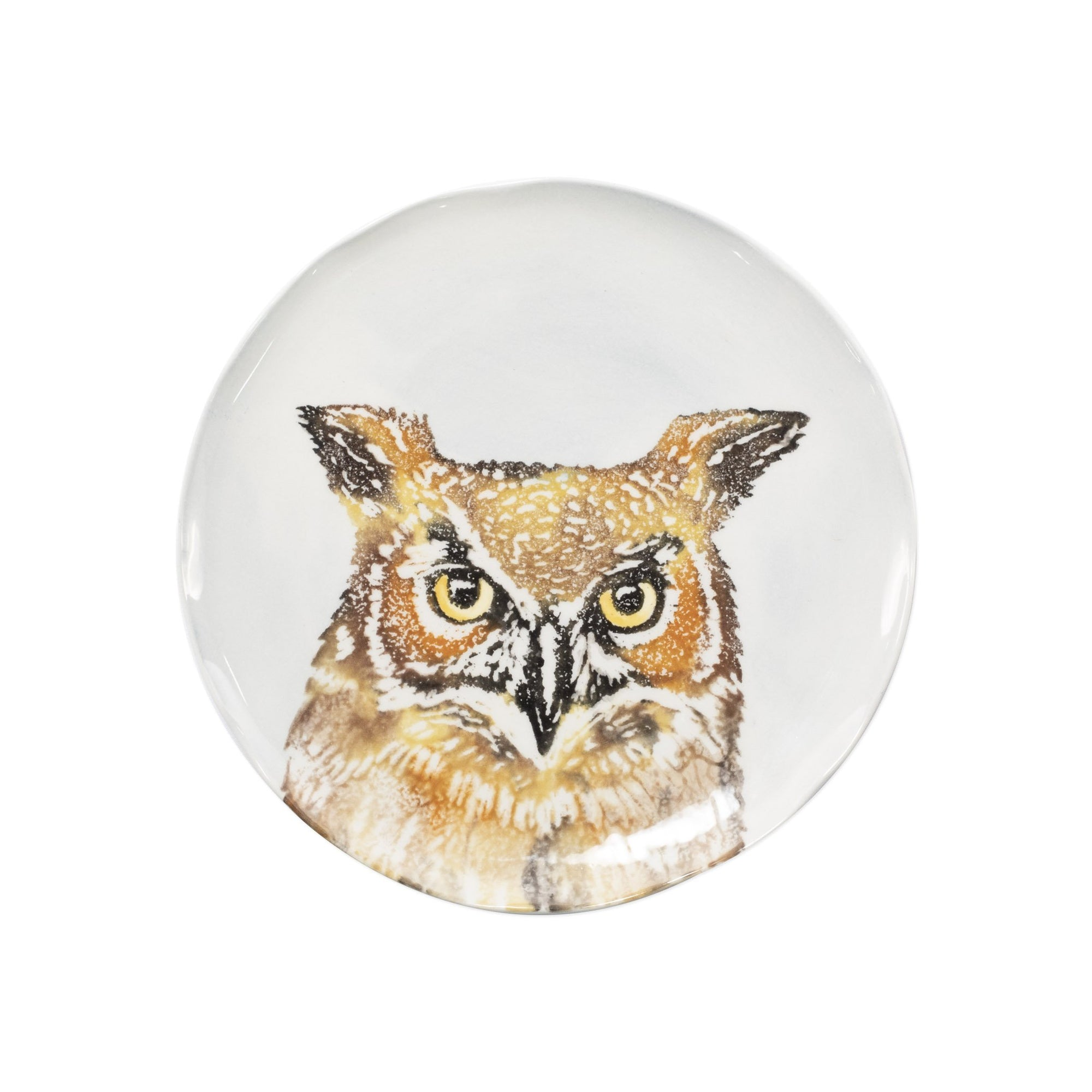 Into the Woods Owl Salad Plate by VIETRI