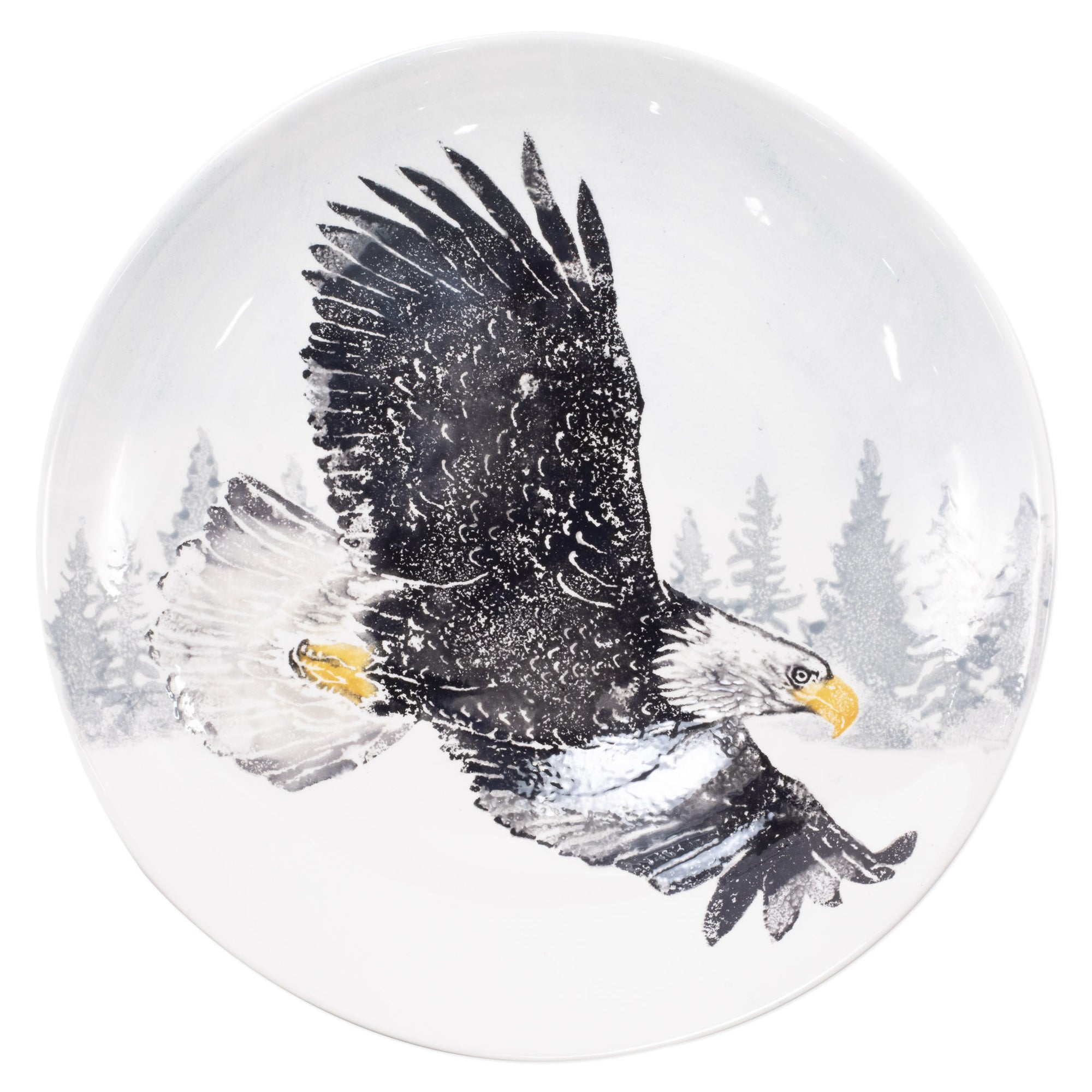 Into the Woods Eagle Large Bowl