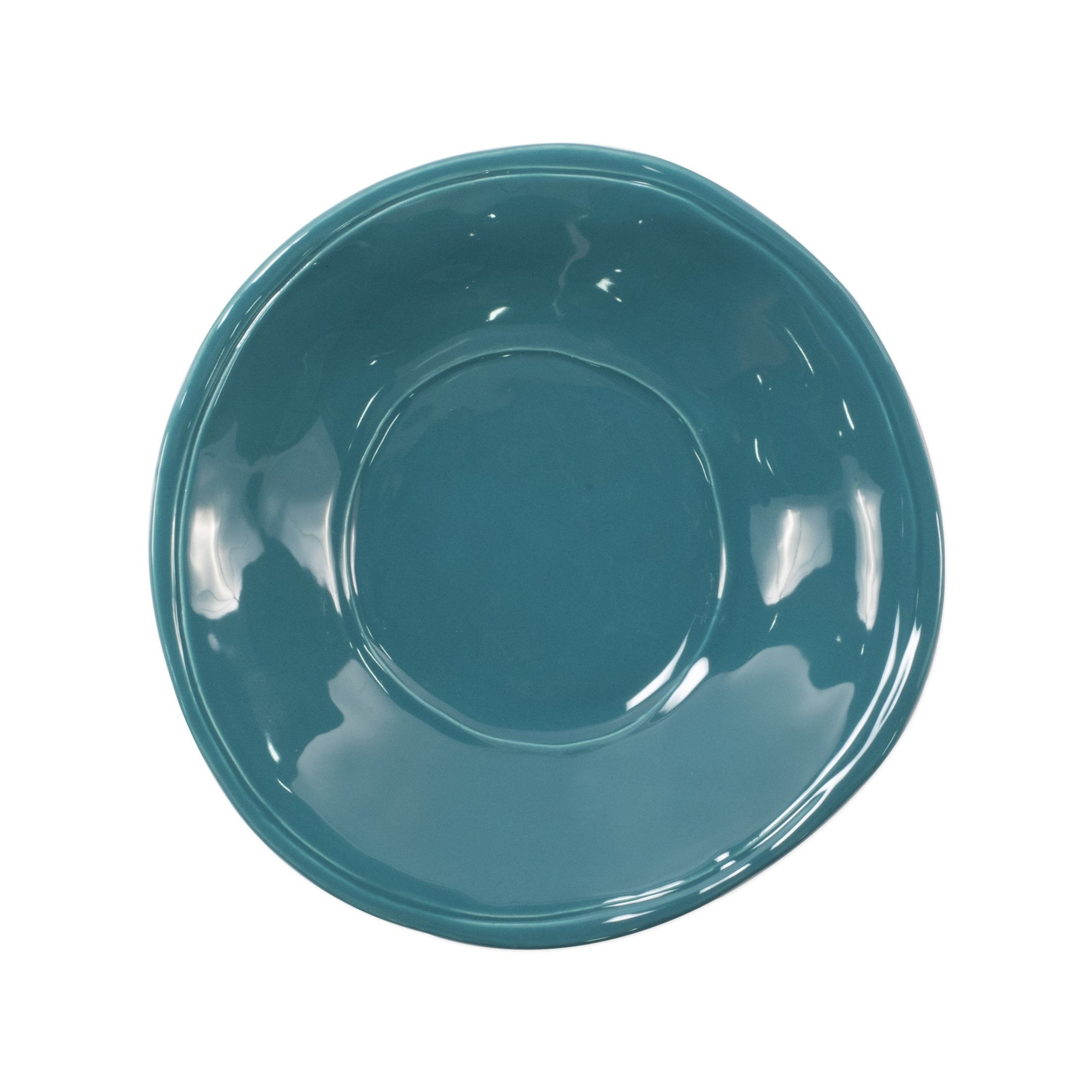 Fresh Teal Pasta Bowl by VIETRI
