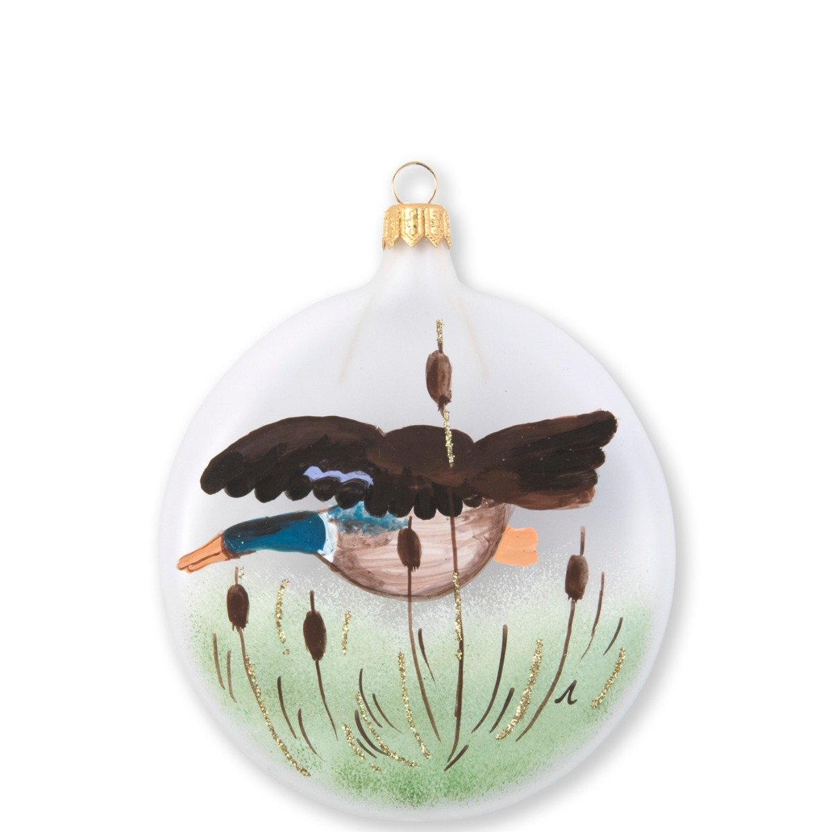 Ornaments Wildlife Mallard Disc Ornament