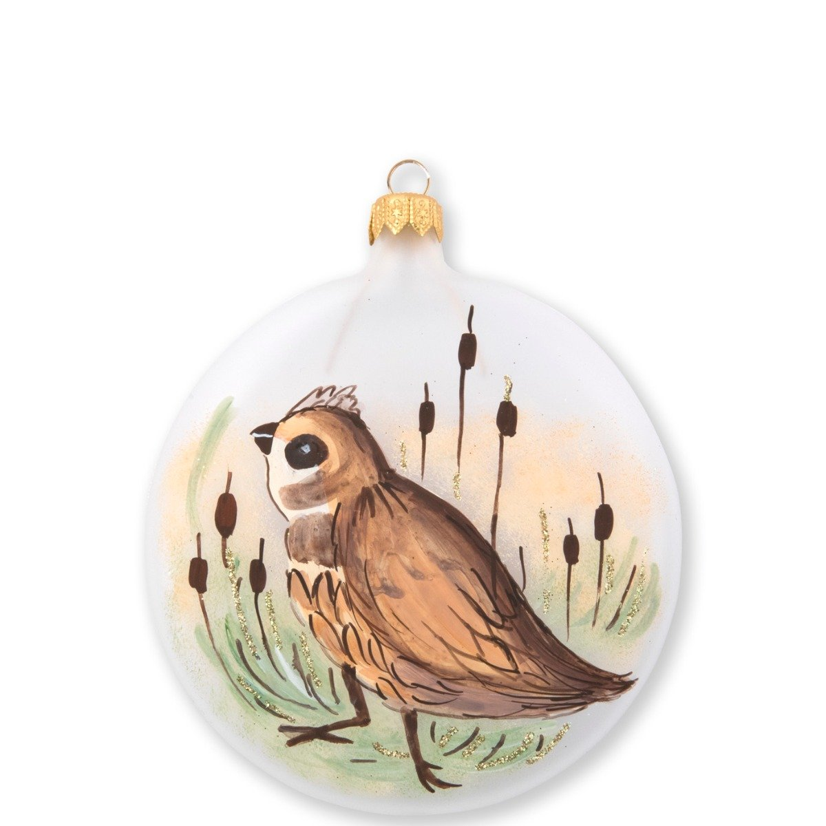 Ornaments Wildlife Quail Disc Ornament
