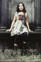 from 1992, a recycled pinafore