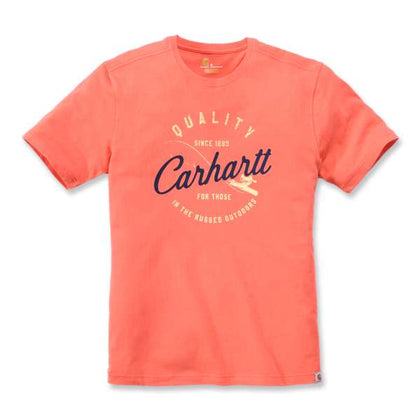 Carhartt T-Shirt Hot Coral