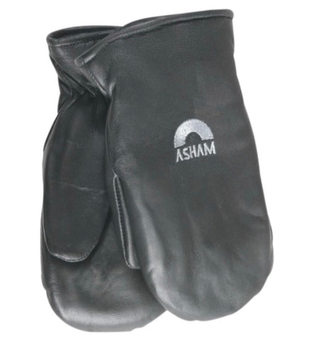 Asham Mitts for Curling - Black