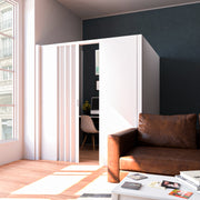 Freestanding Everpanel L-Shaped Partition Wall + Door Kit