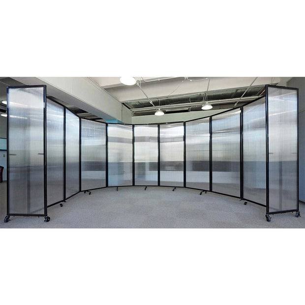 Polycarbonate 360 Folding Portable Partition