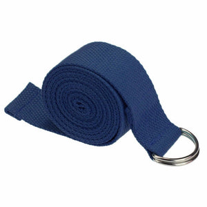 Yoga Stretch Strap D-Ring Buckle Belts