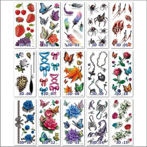 Girls' Tattoo Stickers
