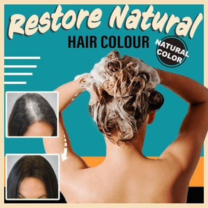 10 Mins Herbal Hair Darkening Shampoo
