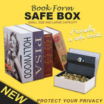 Fireproof Secret Book Safe Box