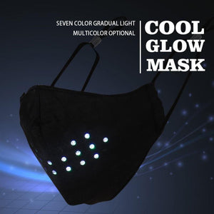 LED Voice Active Face Cover - Light Up Face Cover