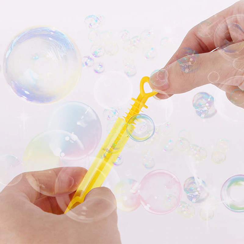 Magic Rainbow Bubble Blower