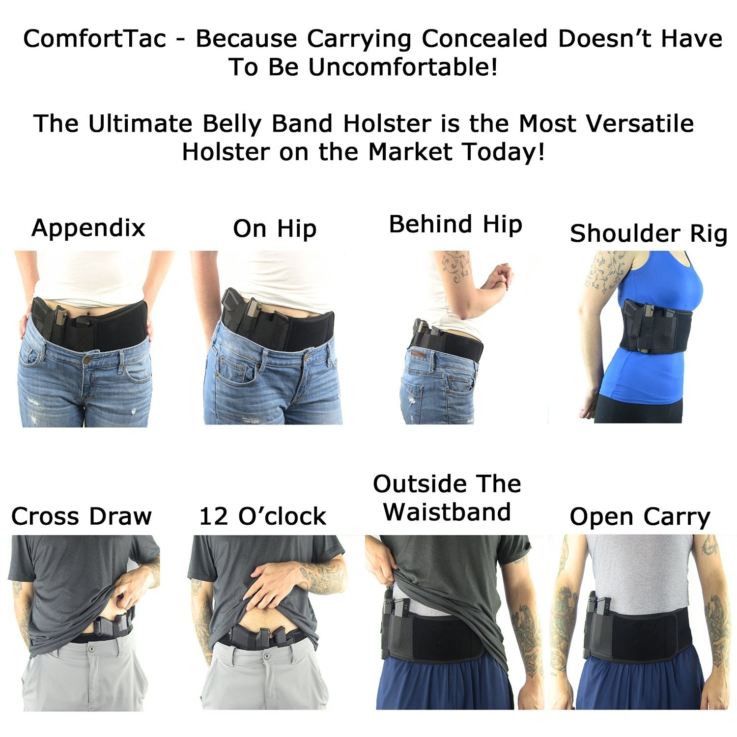 Tactical Belly Band Holster