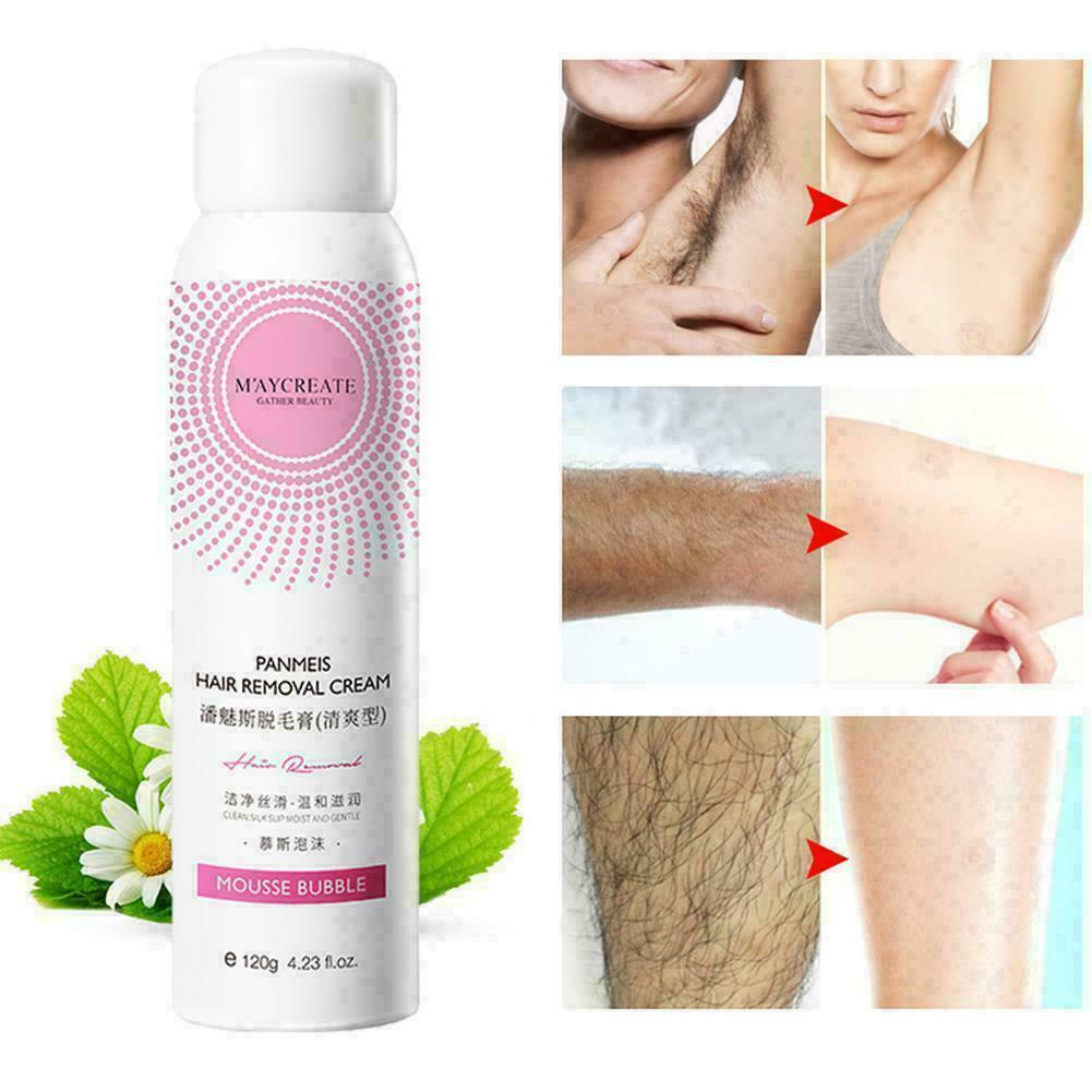100% Permanent Natural Hair Removal Spray