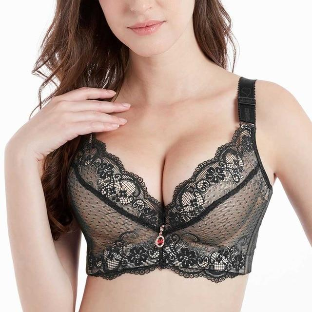 Lace Full-Coverage Bra