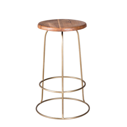 Wilco Counter Stool - Brass