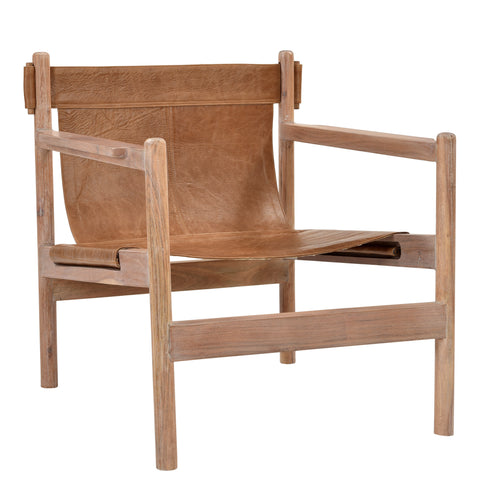 Nolan Sling Chair - Tobacco