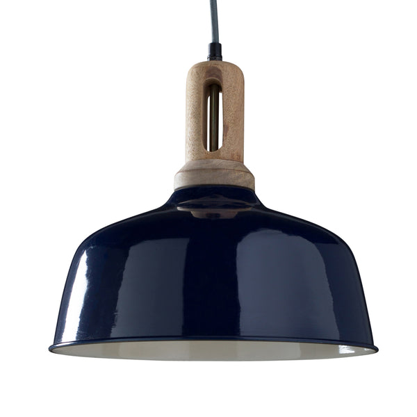 Faulkner Hanging Light - Royal Blue