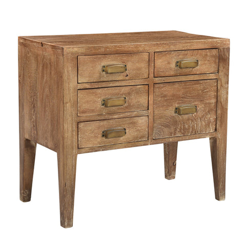 Cowdell 5 Drawer End Table