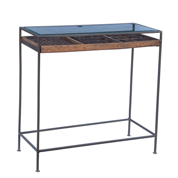 Typeset Console Table