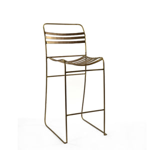 Tobin Counter Stool - Brass ( Set Of 2 )