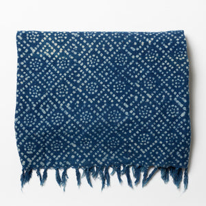 Diamond Indigo Throw