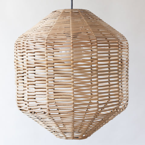 Hexagon Rattan Light