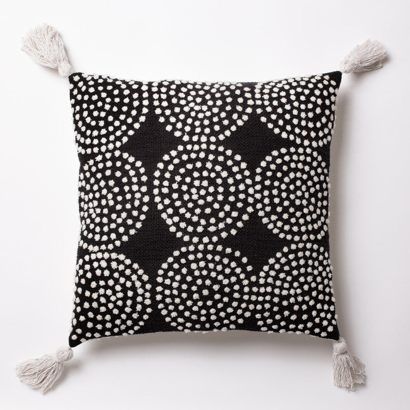 9 dot - Black Cushion 20x20