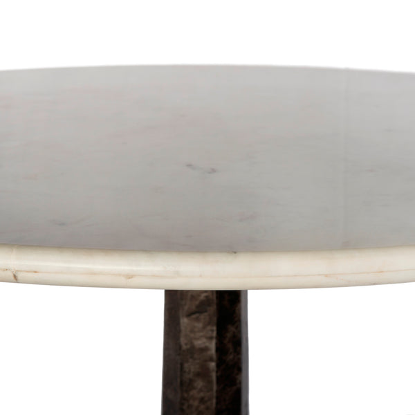 Argus Marble Round Dining Table