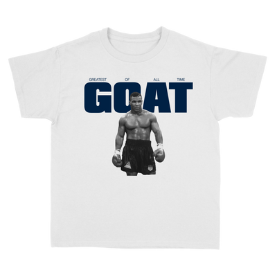 Load image into Gallery viewer, GOAT NAVY ON WHITE
