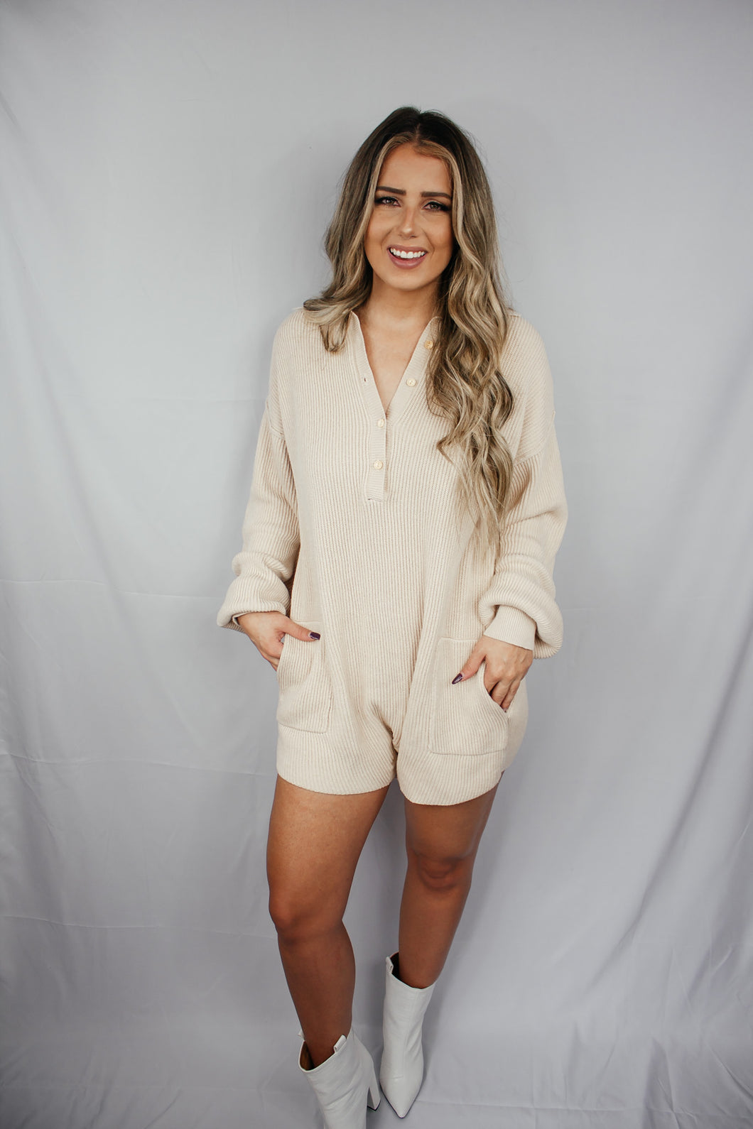 Just Here to Lounge Romper