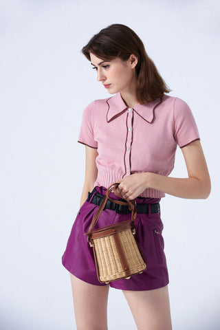buy online straw and rattan bags