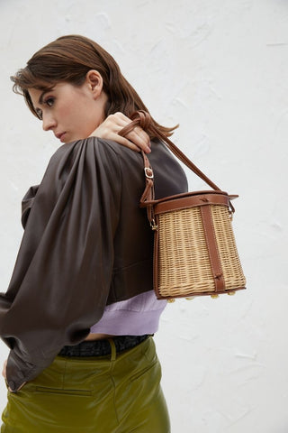 Straw Bucket Bags summer fashion trends of 2021