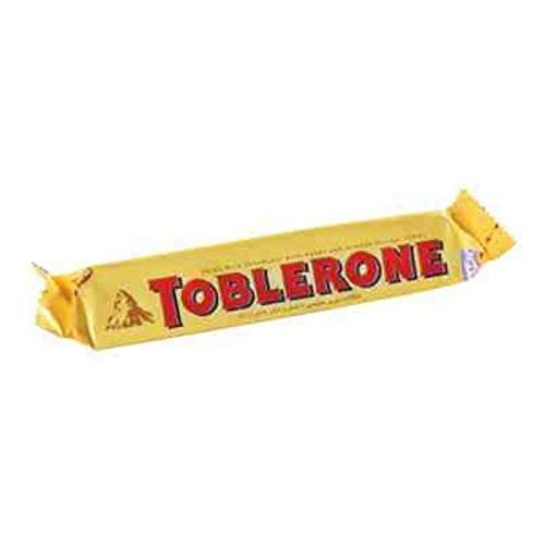 Toblerone Swiss Milk Chocolate Bar With Honey & Almond Nougat 100g