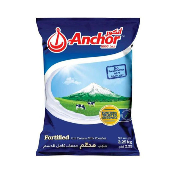 AnchorFortifiedMilkPowder2.25kg