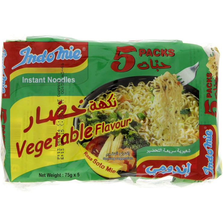 Indomi vegitable flavour 75g*5