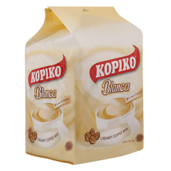 Kopiko Blanca Creamy Coffee Mix 10 x 30g