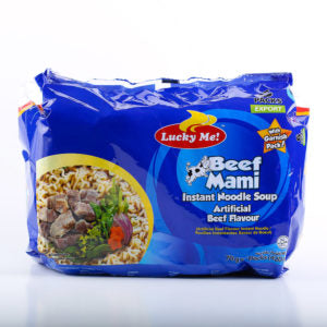 Lucky Me Beef na Beef Instant Orient Style Noodles  60gm *6