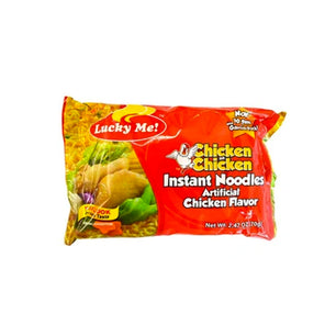 Lucky Me Chicken na Chicken Instant Orient Style Noodles  60gm *6