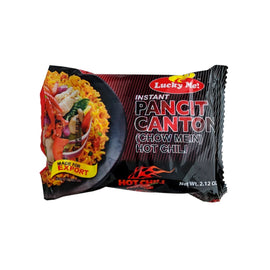 Lucky Me Pancit Canton Fried Noodles Hot Chilli 60 *6
