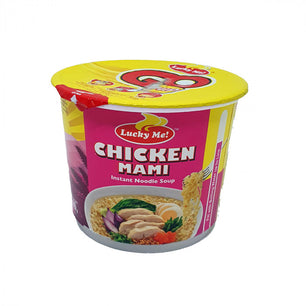 Lucky me chicken mami instant cup noodle soup 40gm