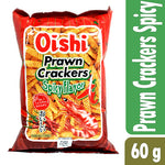 Oishi Prawn Crackers Spicy Flavor 60g