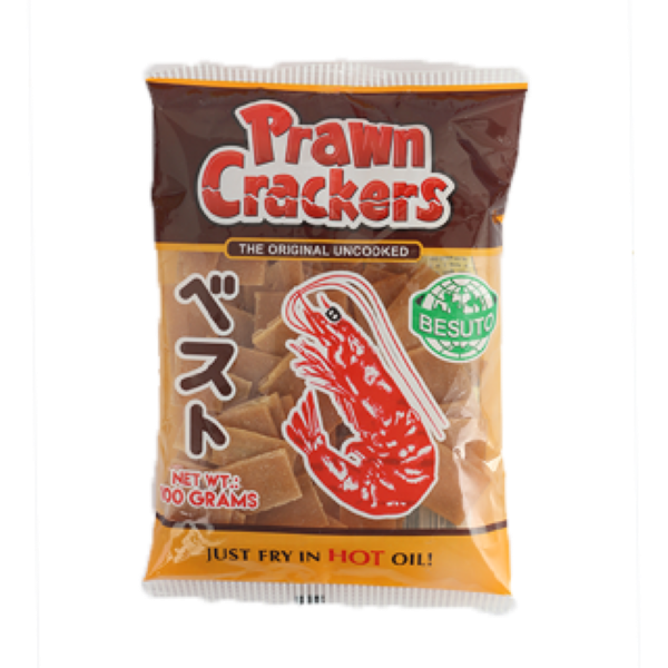 Prawn crackers besuto 100 gm