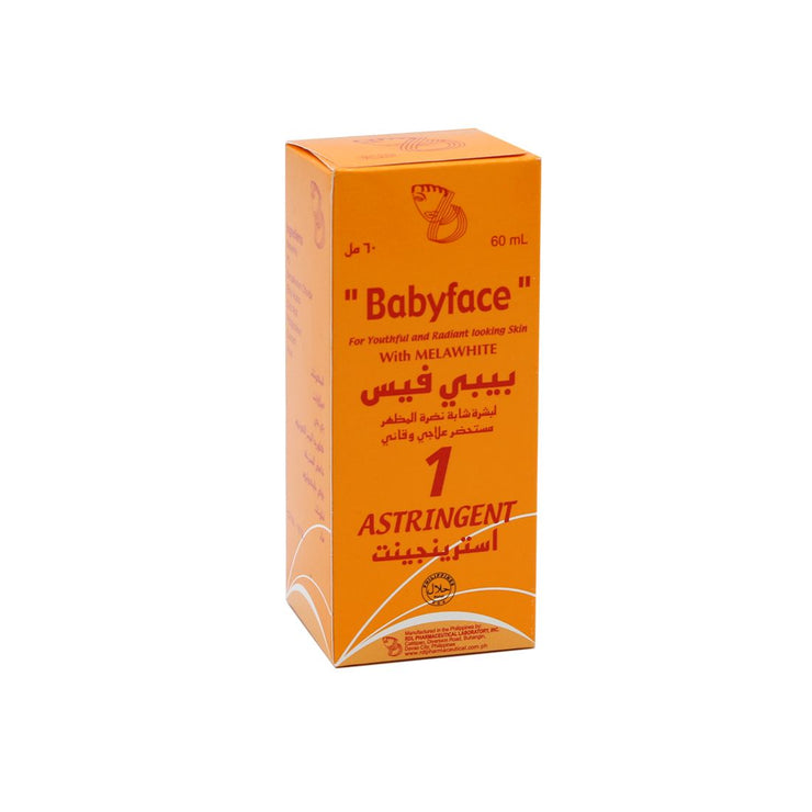 RDL BABY FACE LOTION NO1 ASTRINGENT 60ML