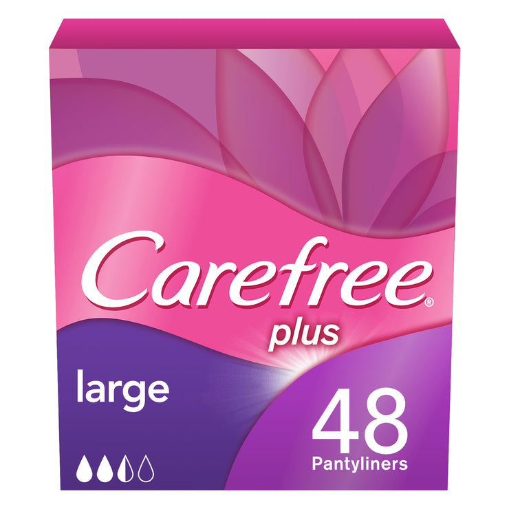 Carefree Panty Liners Large Pack of 48
