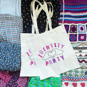 Identity Party Tote Bag