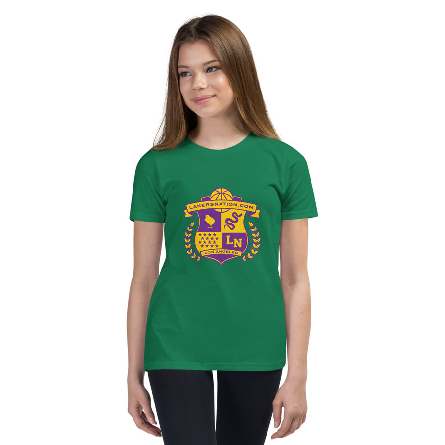 Lakersnation- Youth Short Sleeve T-Shirt